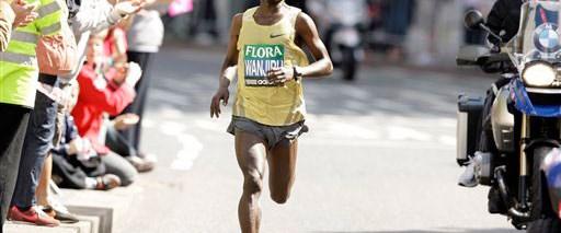 Londra Maratonu Wanjiru'nun