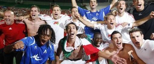 Macaristan'da Şampiyonlar Ligi coşkusu