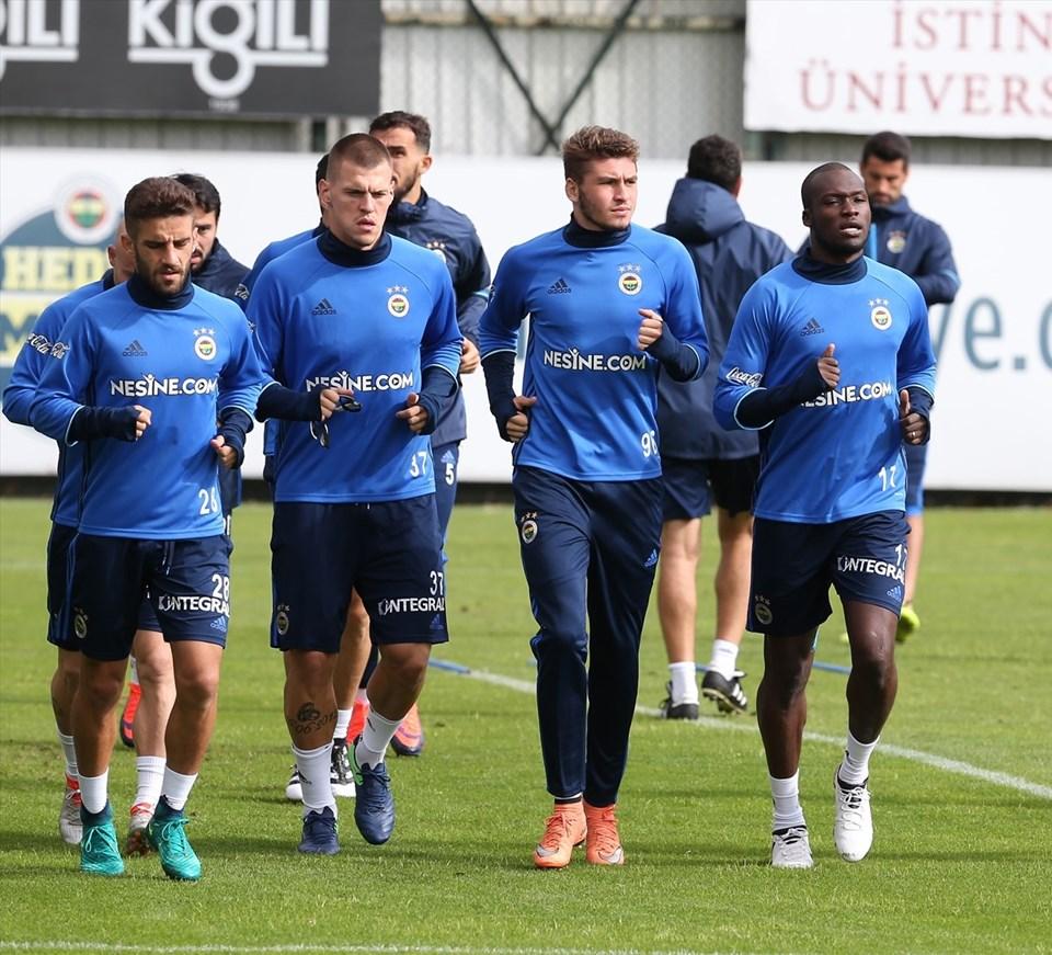 Fenerbahçe-Manchester United maçı hazırlıklarına devam ediyor.