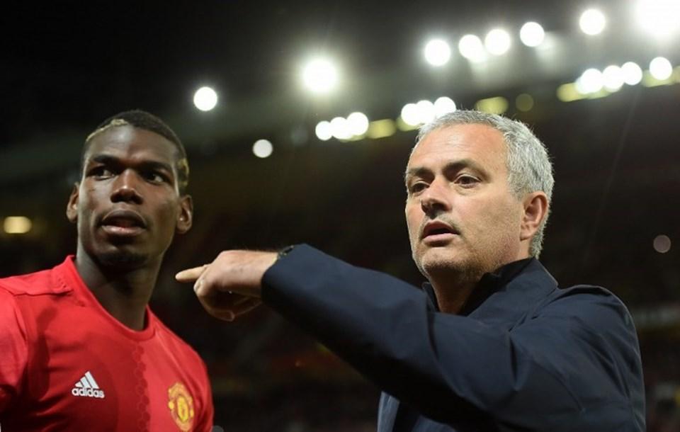 Jose Mourinho-Paul Pogba