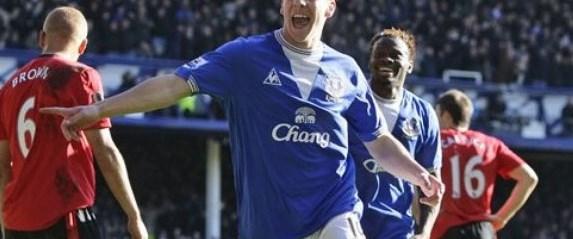 ManU'ya Everton şoku