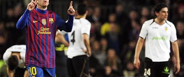 Messi: 4 - Valencia: 1
