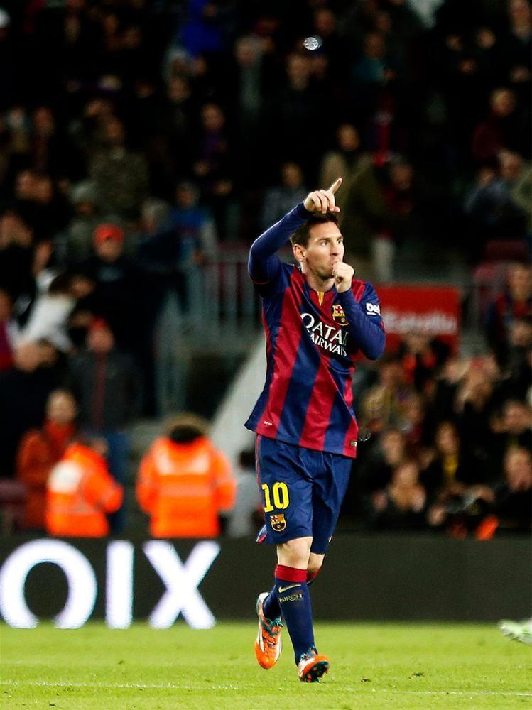 Messi 400 golü geçti