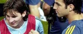 Messi: Fabregas birgün geri dönecek