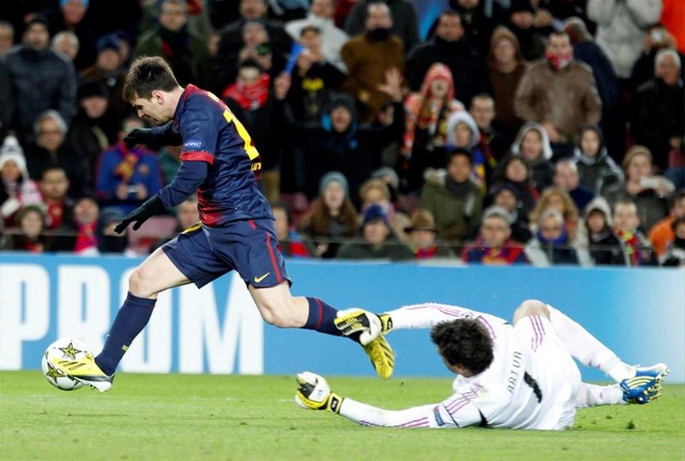 Messi rekora 1 kala yere düştü!
