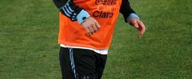 Messi'den destek