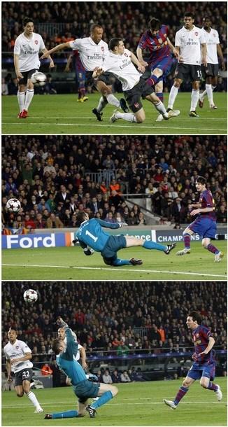 Messi'nin şovu