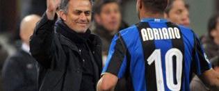 Mourinho: Adriano disiplinsiz değil