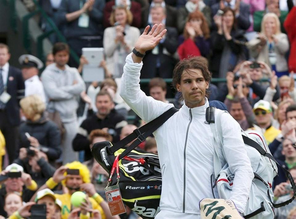 Nadal'dan bir ilk