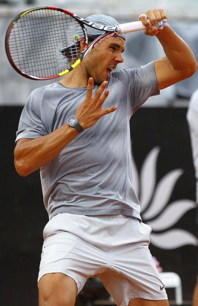 Nadal'ın antrenmanlarına yoğun ilgi