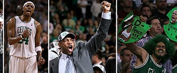 NBA'de ilk finalist Celtics