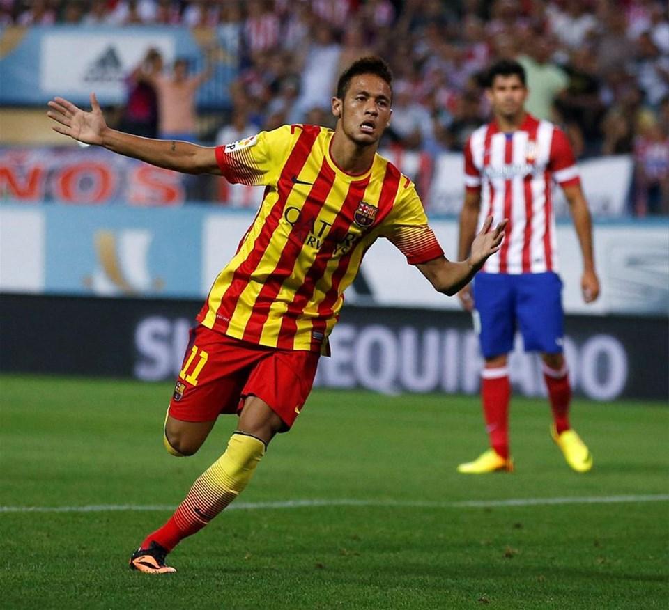 Neymar'ın ilk golü