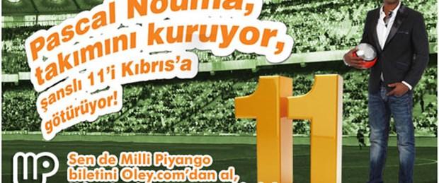 Nouma, şanslı 11'i Kıbrıs'a götürüyor!