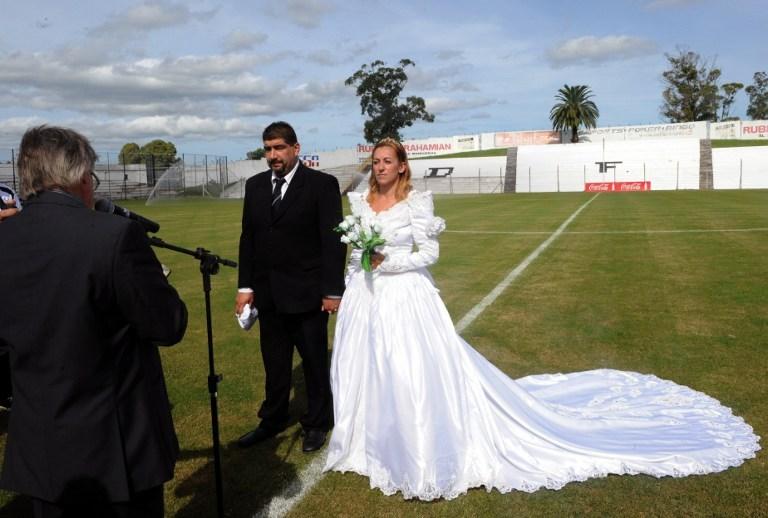 Önce düğün sonra maç