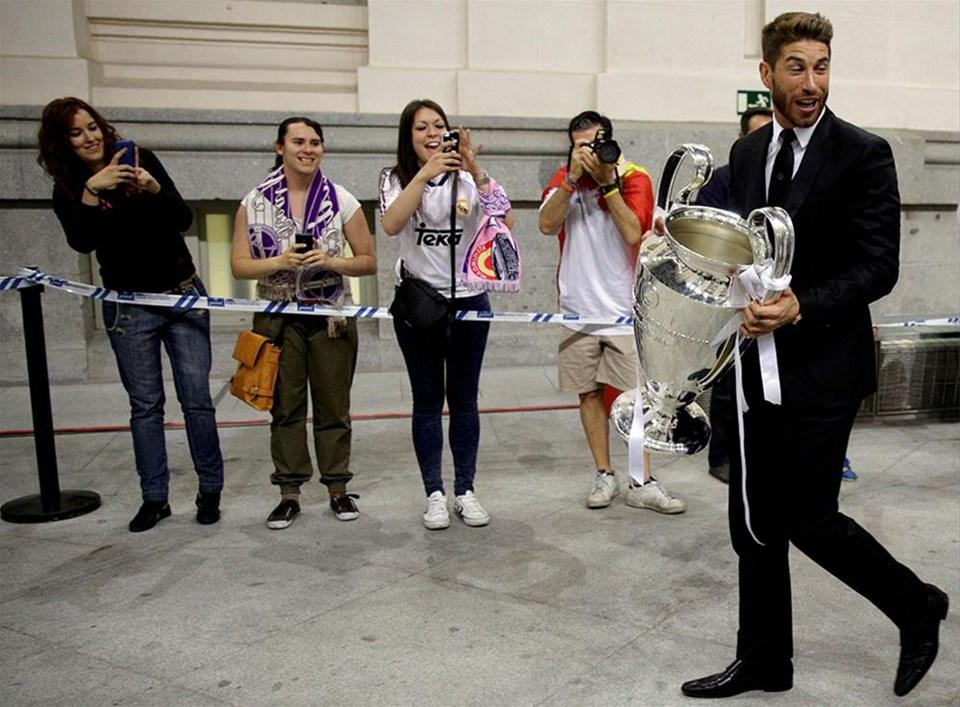 Real Madrid kutlamaları sürdürdü