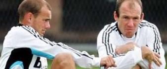 Robben Bayern'de Sneijder Inter'de