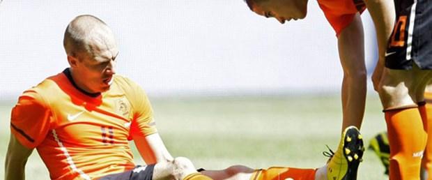 Robben'in zor günleri