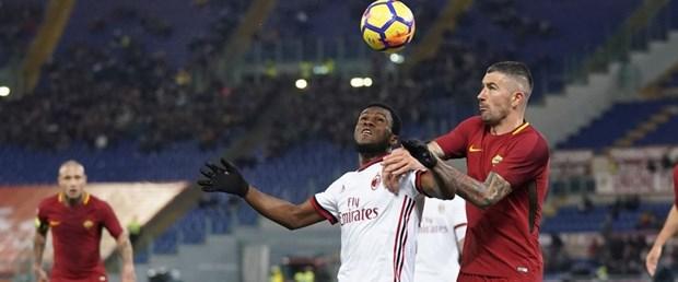 Roma'da kazanan Milan