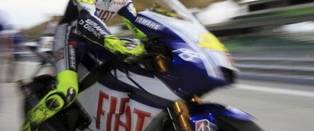 Rossi kaldığı yerden!