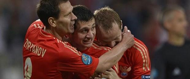 Rusya Euro 2012'ye farklı başladı