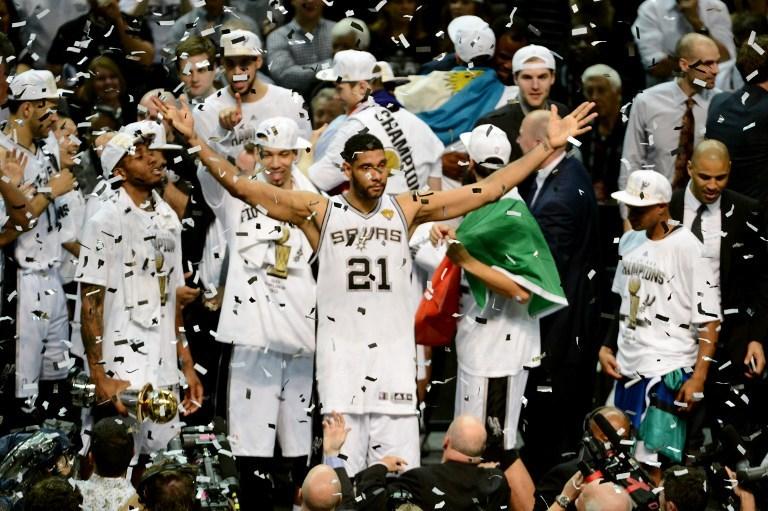Şampiyon San Antonio Spurs