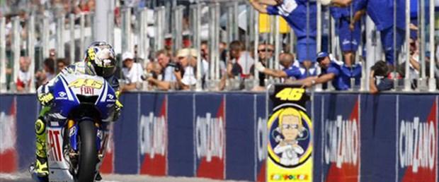 San Marino'da zafer Rossi'nin