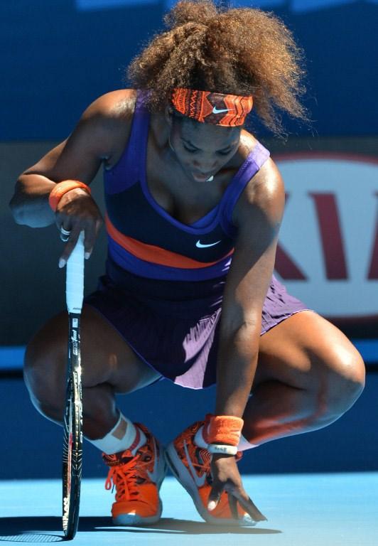 Serena Williams elendi