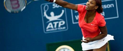 Serena Williams zirvede
