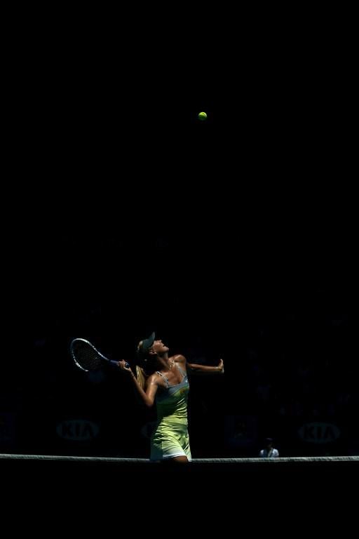Sharapova'dan veda
