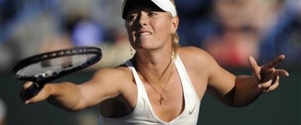 Sharapova'nın sakatlığı sürüyor
