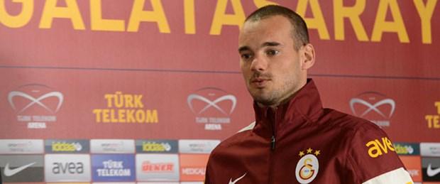 Sneijder: Hagi gibi efsane olmaya geldim