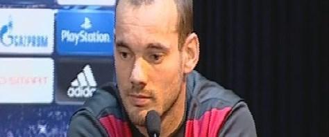 Sneijder: Zafer istiyoruz