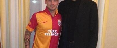 Sneijder'de mutlu son!