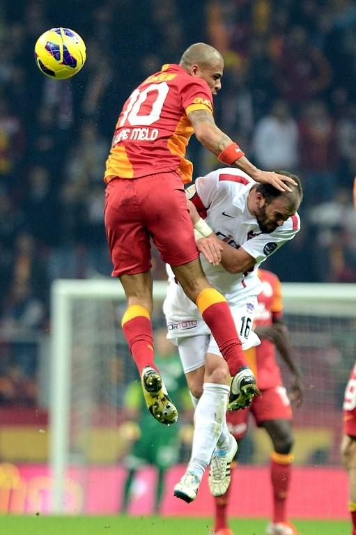 Galatasaray Gaziantepspor engelini aşamadı