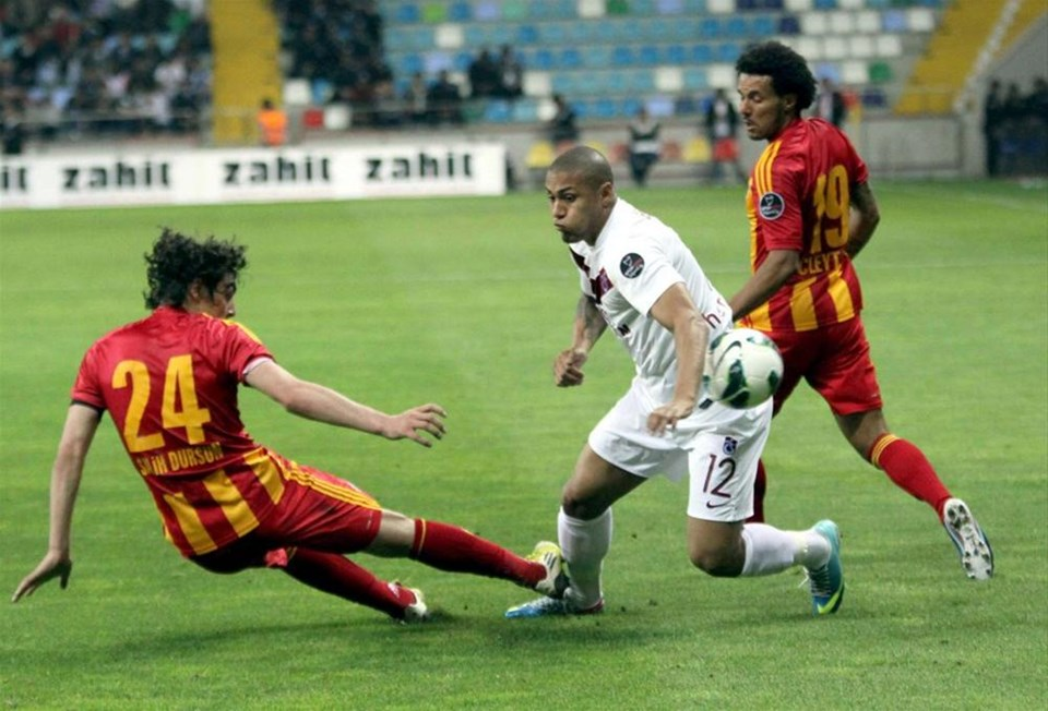 Kadir Has'ta 3 puan Kayserispor'un