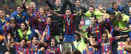 Süper Kupa Barcelona'nın: 1-0