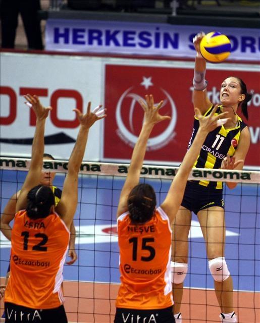 Süper Kupa Fenerbahçe Acıbadem'in 3-1