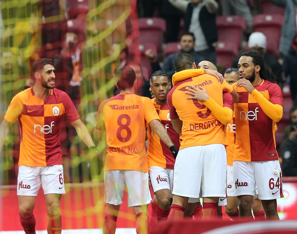 Galatasaray, tolga ciğerci, selçuk inan, eren derdiyok, süper lig puan durumu