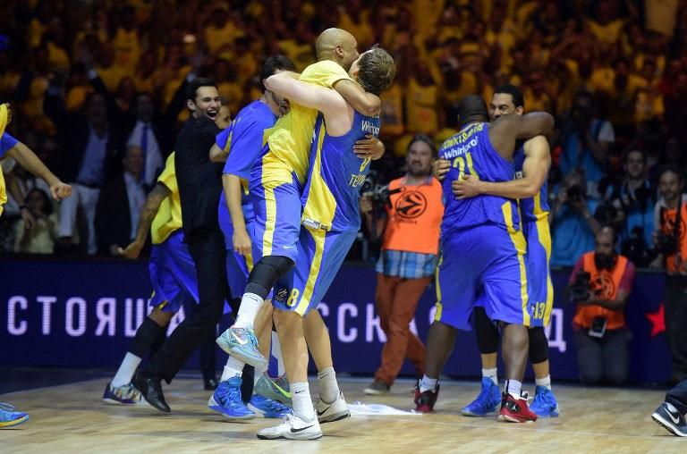 THY Euroleagu'de şampiyon Maccabi