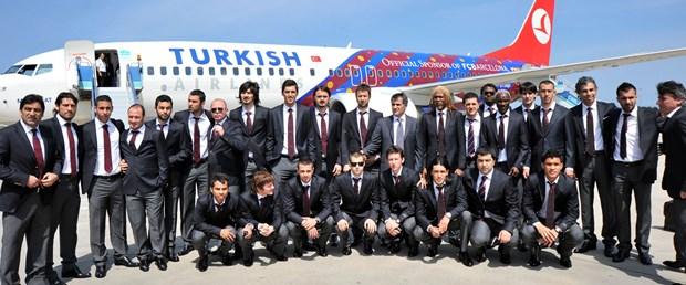 Trabzonspor Barça'nın uçağıyla gitti