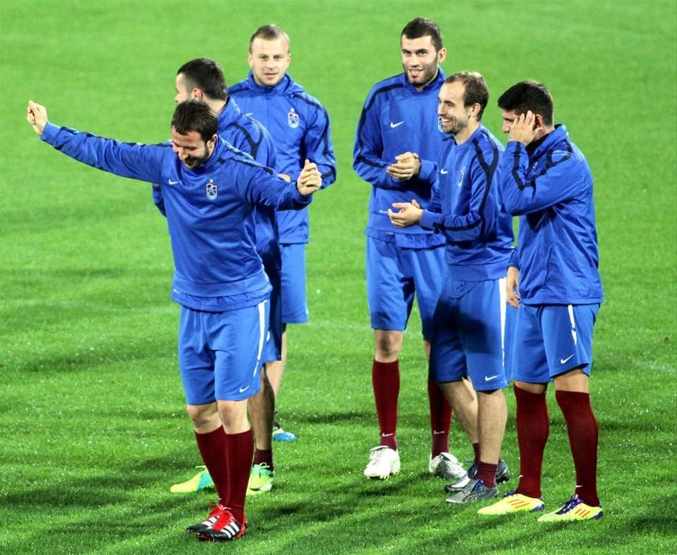 Trabzonspor CSKA'ya hazır