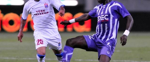 Trabzonspor'dan Avrupa'ya veda: 0-1
