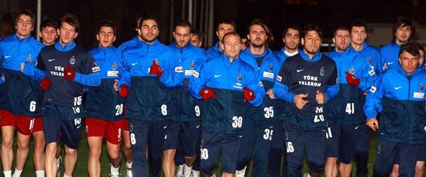Trabzonspor'un Antalya kampı başladı