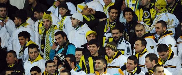 'Türk taraftarlar stadı ısıttı'