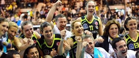 Türkiye Kupası Fenerbahçe Acıbadem'in