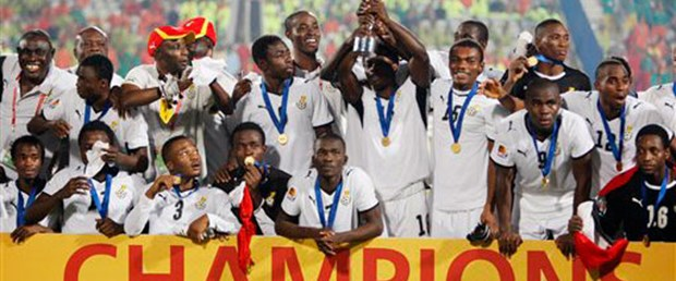 U-20'de şampiyon Gana