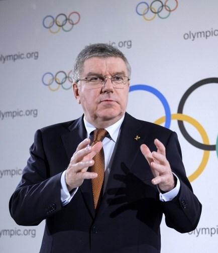 Uluslararası Olimpiyat KomitesiBaşkanı Thomas Bach