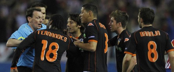 Valencia tepkili