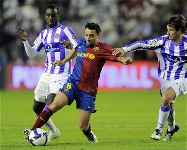 Valladolid: 0 Barcelona: 1