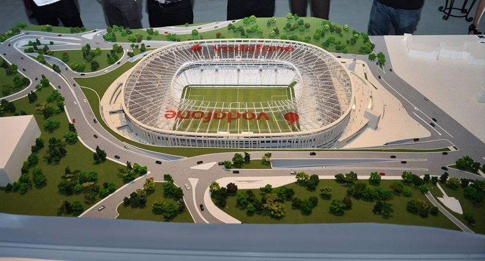 Vodafone Arena'ya görkemli tanıtım
